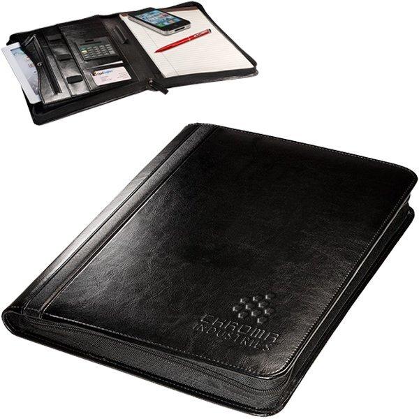 Alpha™ Zip-Around Portfolio w/ Tablet Case and Calculator