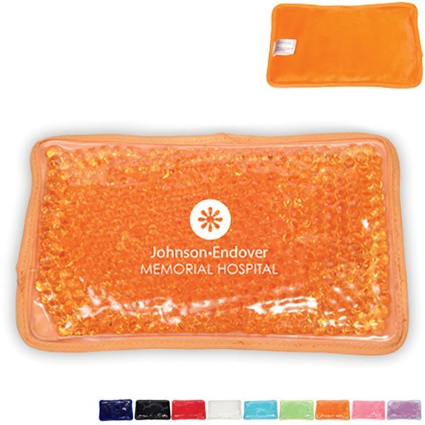 Plush Aqua Pearls™ Rectangle Deluxe Hot & Cold Pack