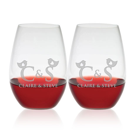 Riedel® Shiraz Stemless Wine Glass Set