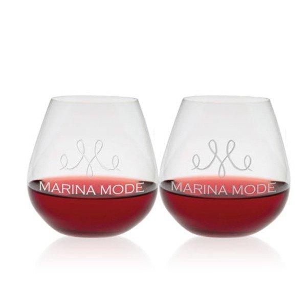 Riedel® Pinot Noir Stemless Wine Glass Set