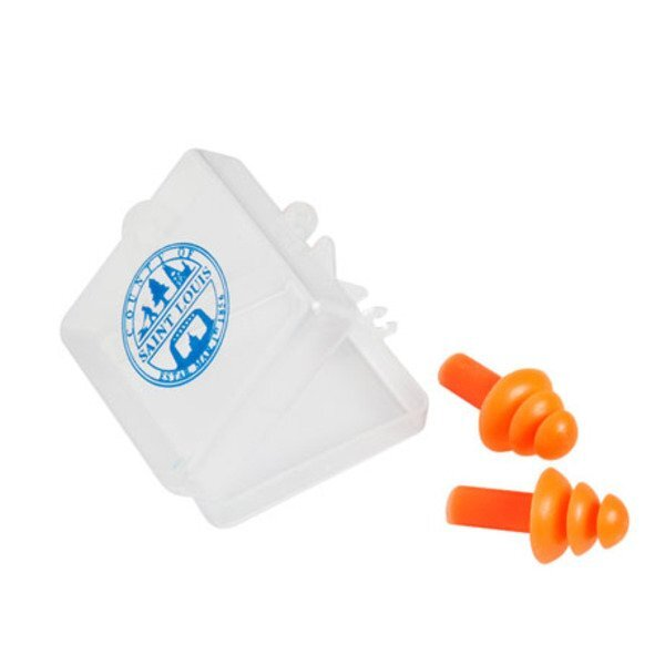 Triple Flange Silicone Ear Plugs
