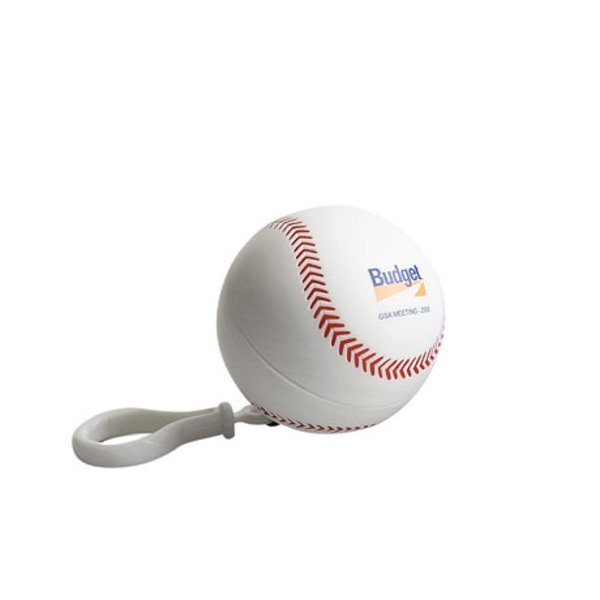 Baseball Poncho Key Chain
