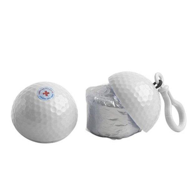 Golf Ball Poncho Key Chain