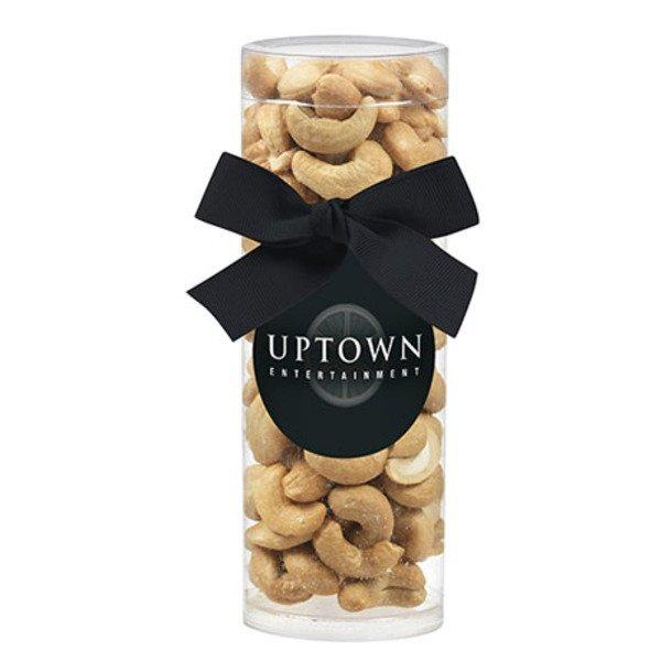 Elegant Small Gift Tube w/ Cashews
