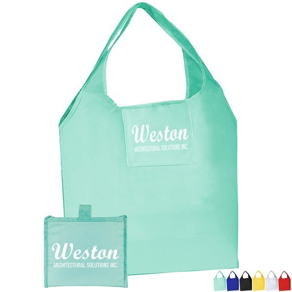 Convenient Nylon Fold Up Shopping Tote