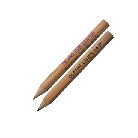 Natural Finish Golf Pencils
