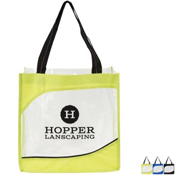 Clarity Clear Tote Bag