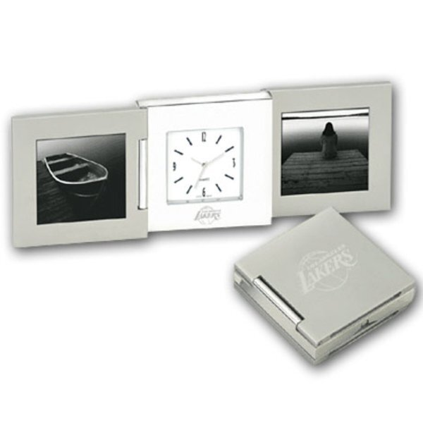 Tri-Beca Clock & Frame