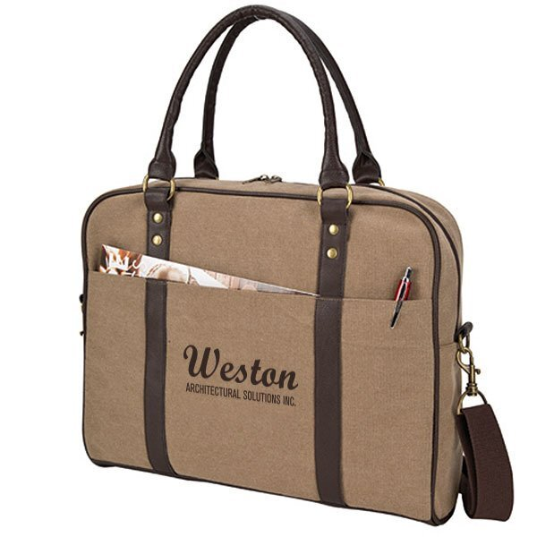 Arlington Canvas Compu Briefcase