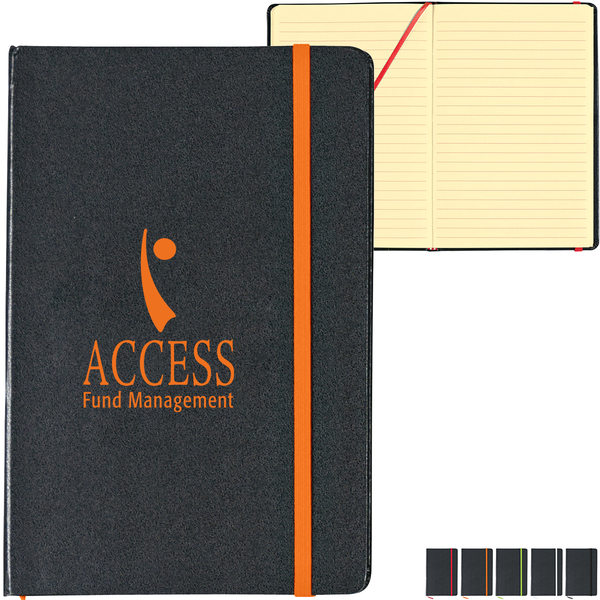 """Shelby 80 Page Notebook, 5-1/2"""" x 8-1/4"""""""
