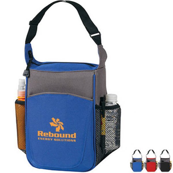 Duo Tone Picnic Lunch Cooler Bag