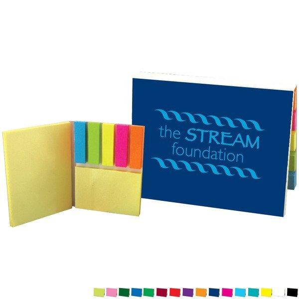 Sticky Note & Flag Binder Full Color Portfolio
