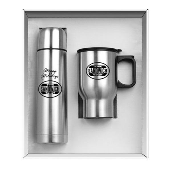 Steel City Mug & Thermos Set