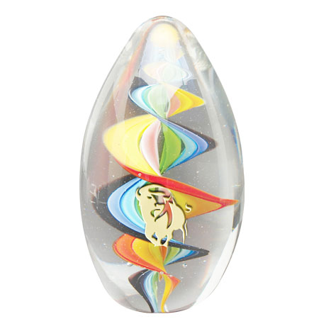 Inspire Art Glass Paperweight