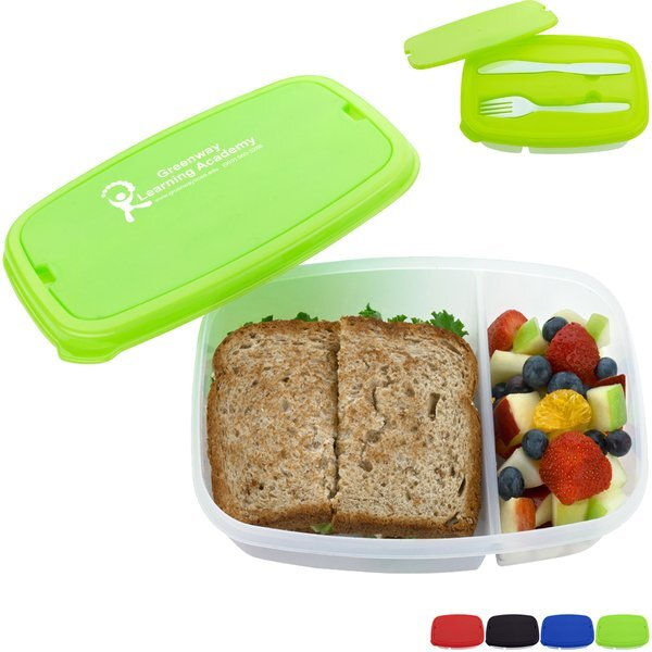 Two Section Lunch Container