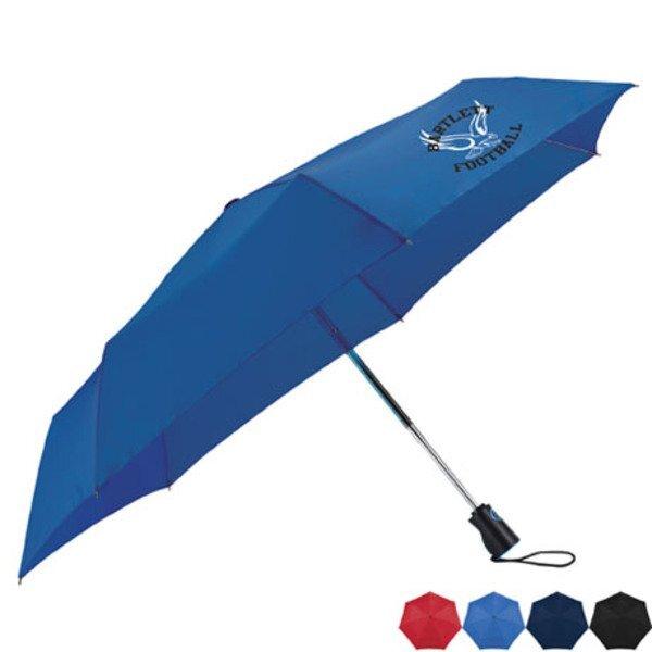 "totes® Three-Section Auto Open/Close Umbrella, 44"" Arc"