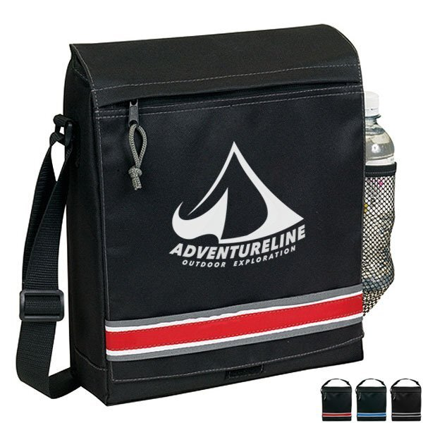 Contemporary Techno 600D Messenger Bag