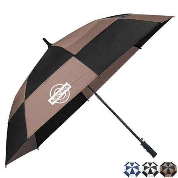 "totes® Auto Open Vented Golf Umbrella, 62"" Arc"