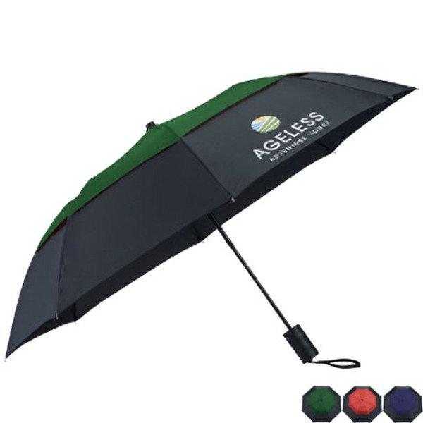 "Cambridge Vented Windproof Umbrella, 42"" Arc"