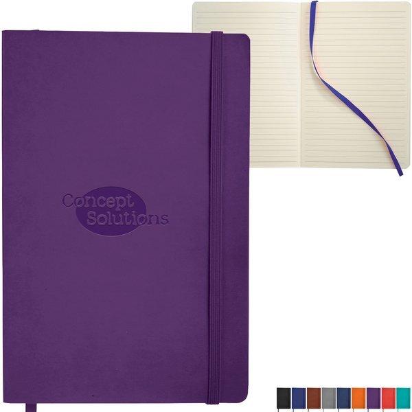 "Pedova™ Soft Bound JournalBook™, 5-1/2"" x 8"""