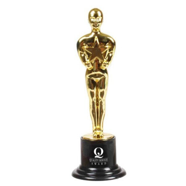 Plastic Hollywood Award Trophy