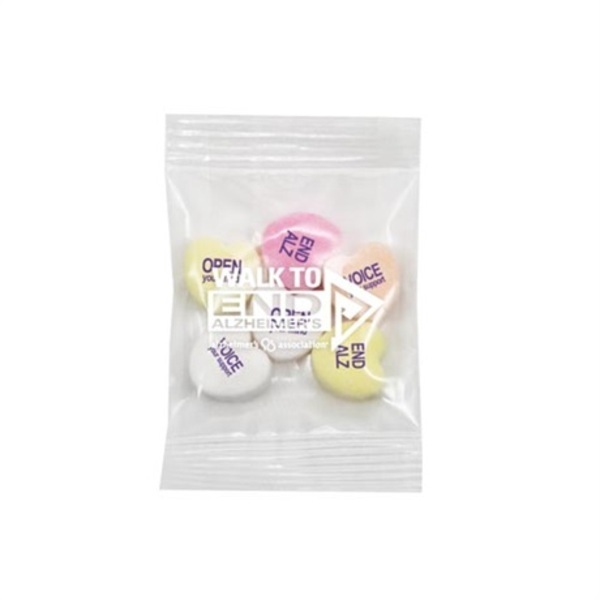 Conversation Hearts Promo Snax Bag
