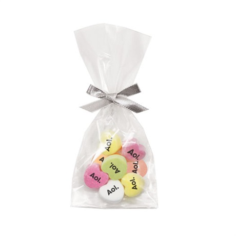 Conversation Hearts Favor Bag