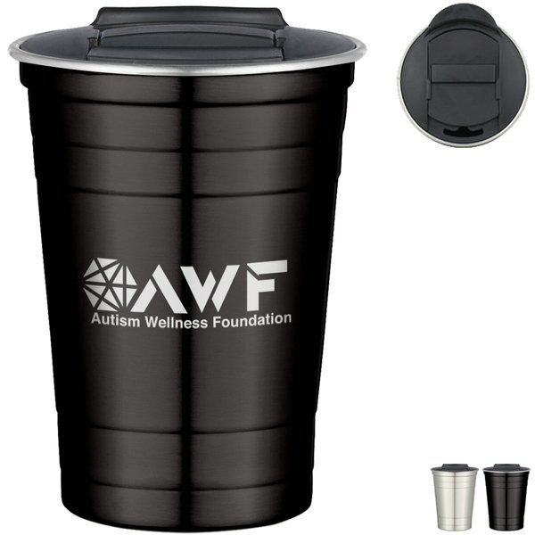 Stainless Steel Cup, 16oz.