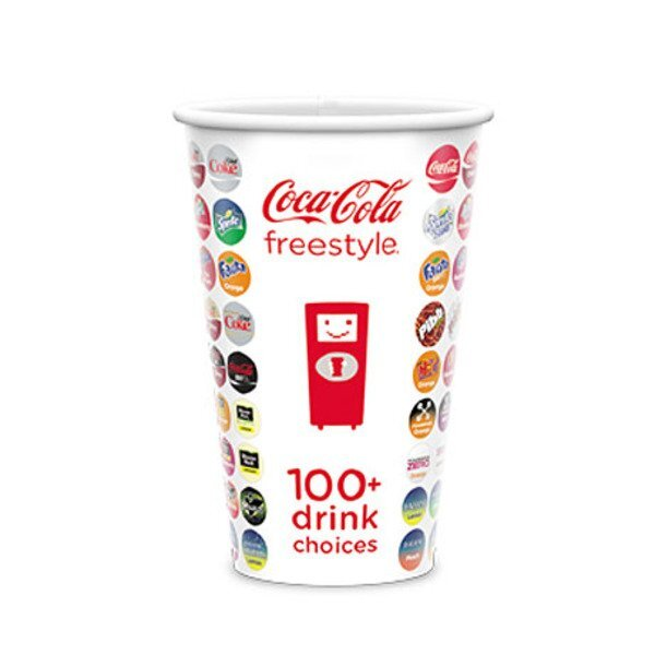 Cold Beverage Paper Cup, 16oz.