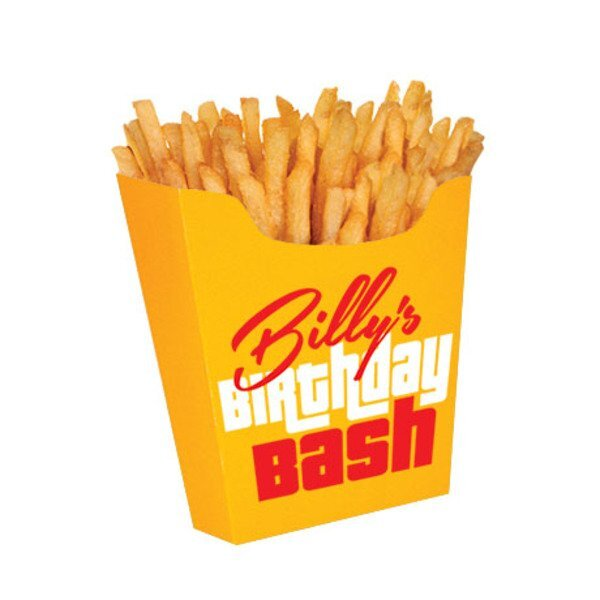 French Fry Container