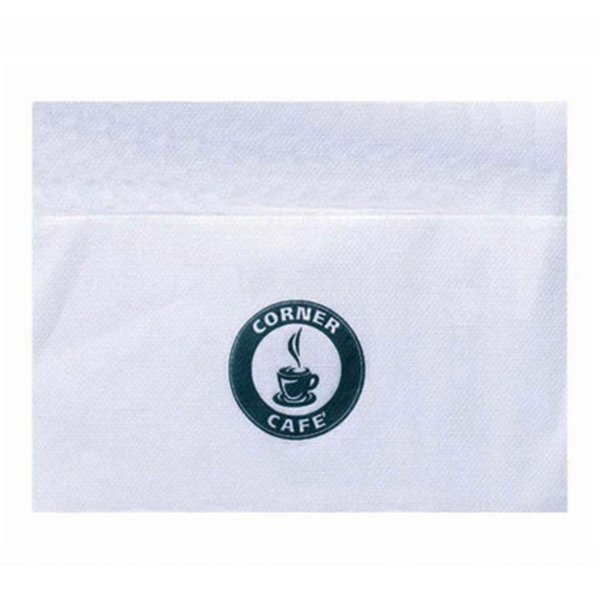 White Dispenser Napkin, 1 Ply