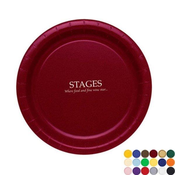 "Round Paper Plate, 9"""