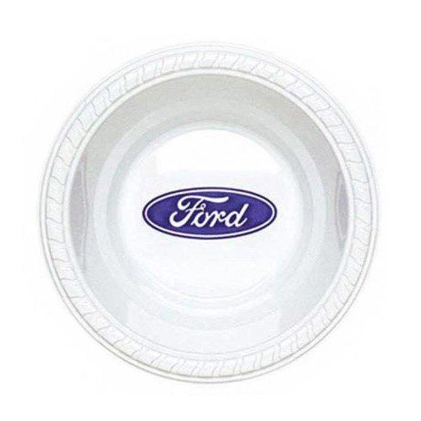 White Plastic Bowl, 12oz.
