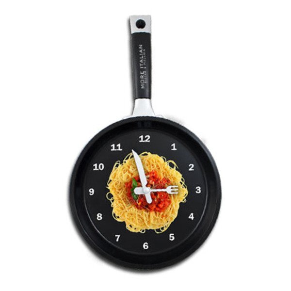 Hot Spaghetti Wall Clock