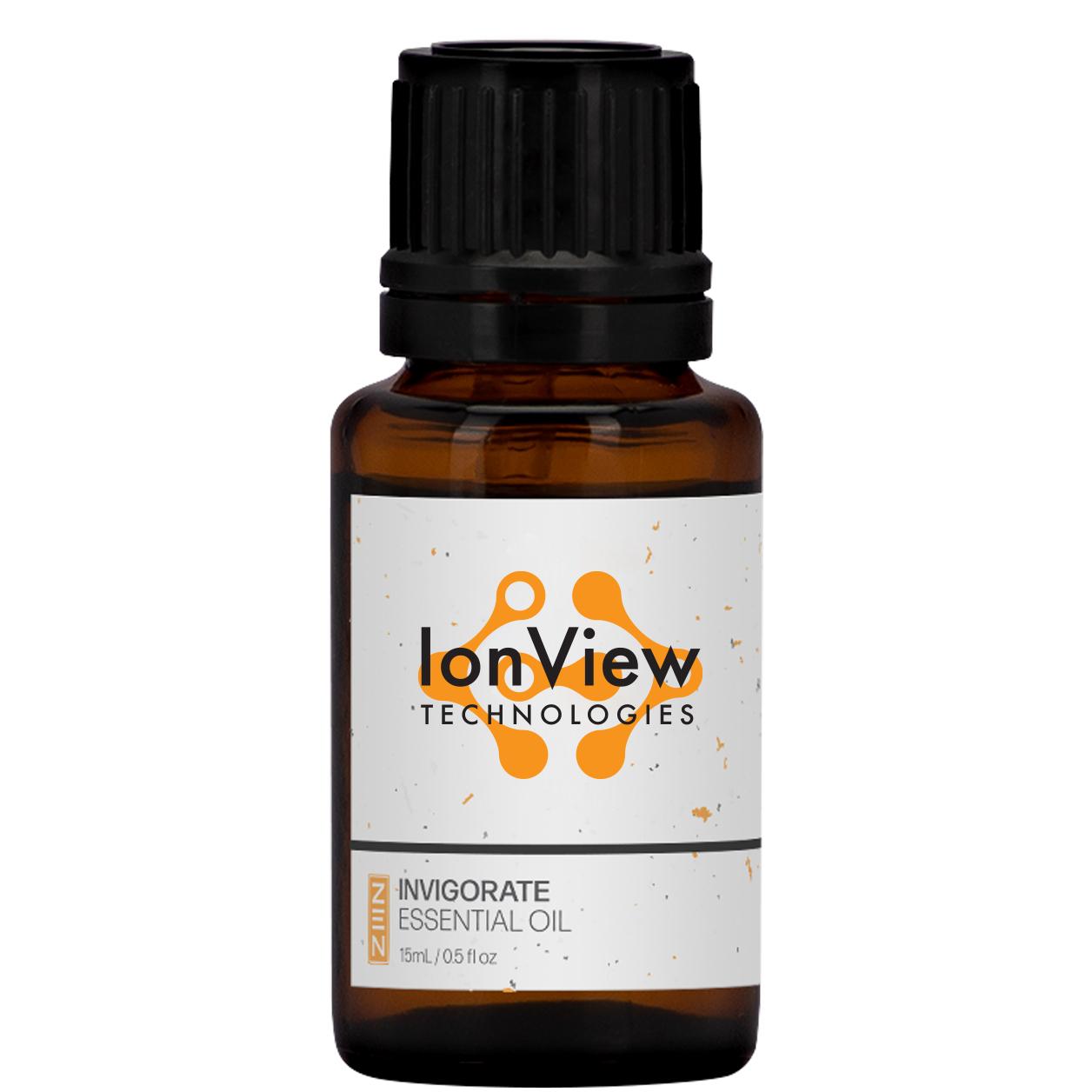 Invigorate Essential Oil Amber Dropper Bottle, 15ml.