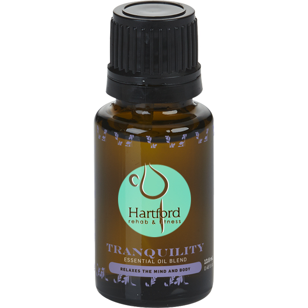 Tranquility Essential Oil Amber Dropper Bottle, 15ml.