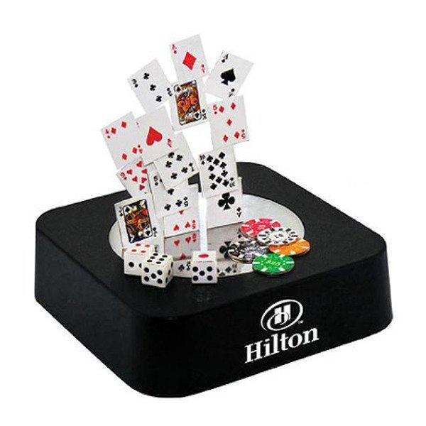 Poker-Themed Magnetic Sculpture Block