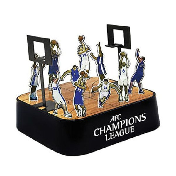 Basketball Court Magnetic Sculpture Block