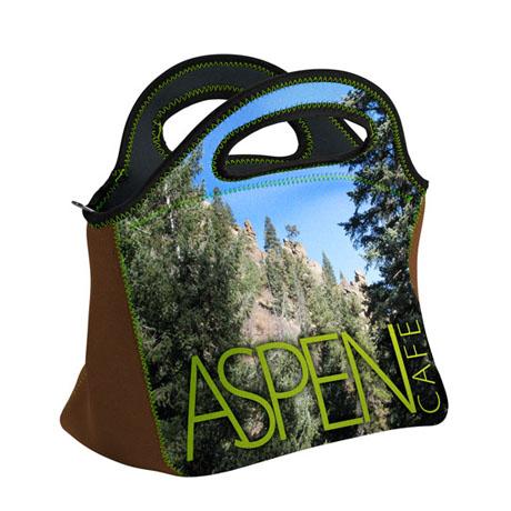 Gran Klutch Neoprene Lunch Bag w/ Full Color Imprint