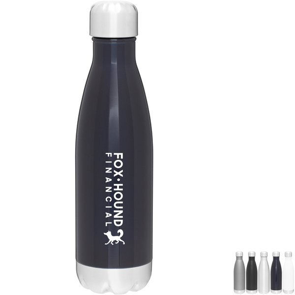 Force Stainless Steel Thermal Bottle, 17oz. - Free Set Up Charges!