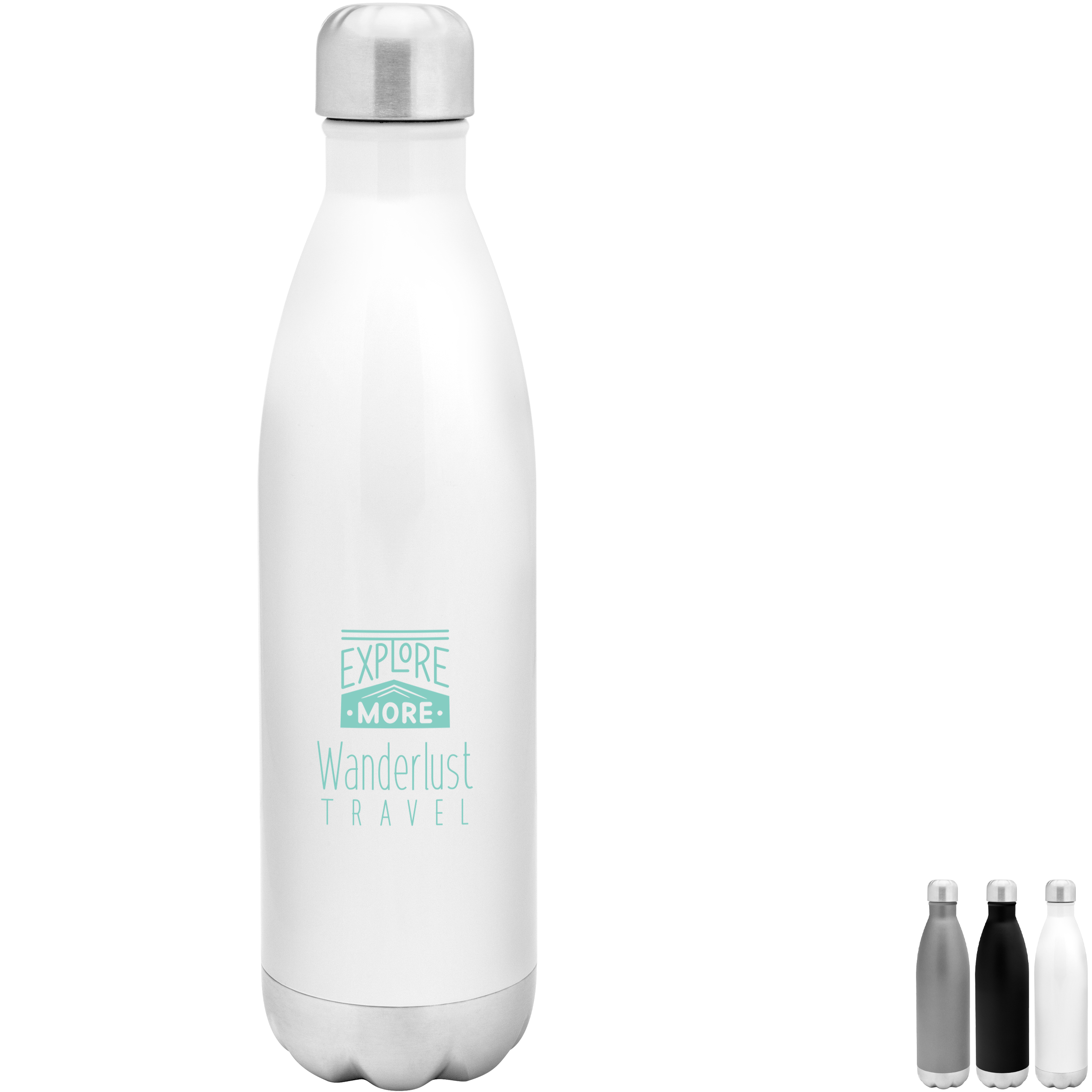 Force Stainless Steel Thermal Bottle, 26oz.