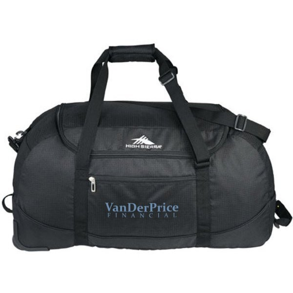 High Sierra® Packable Wheel-N-Go Duffel