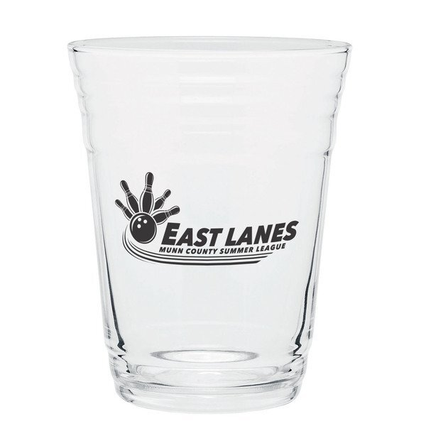 Player Single Wall Glass, 16oz.