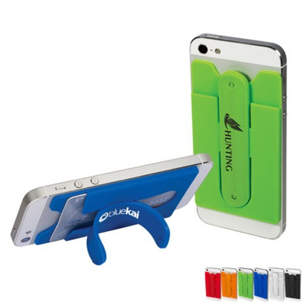 Quik-Snap Mobile Device Pocket & Stand