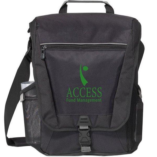 Vertex™ Vertical 300D Computer Messenger Bag