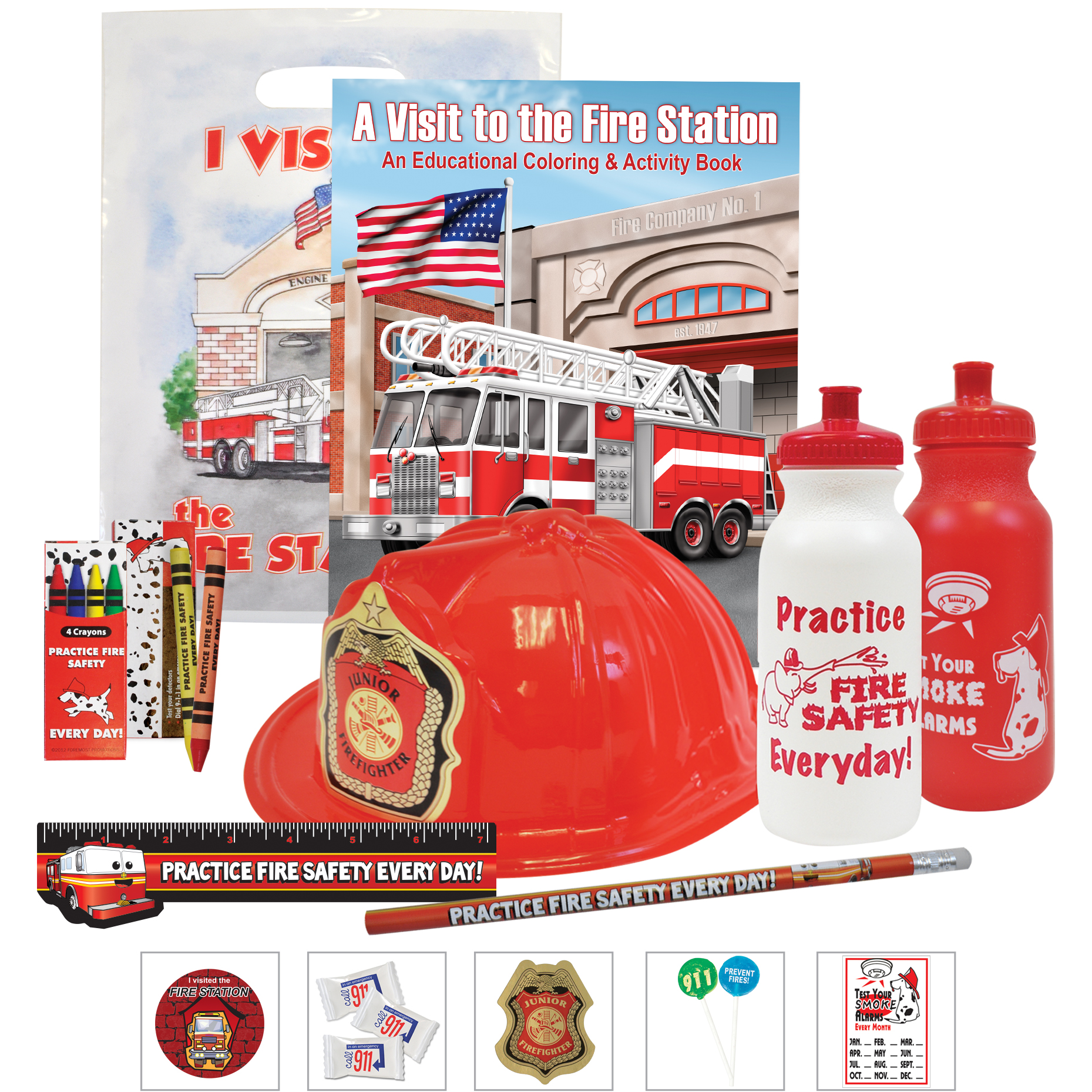 Deluxe Fire Open House Kit