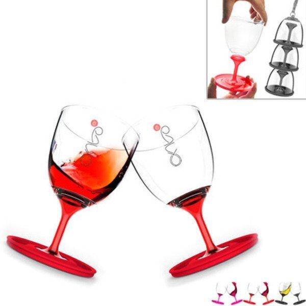 Stack N Go Wine Glass Set, 10oz.