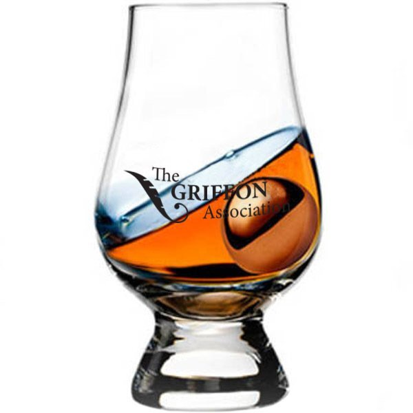 Glen Cairn Scotch Taster with Ice Ball, 7oz.