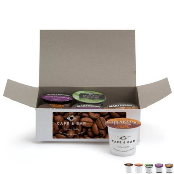 Six Piece Coffee Pod Gift Set