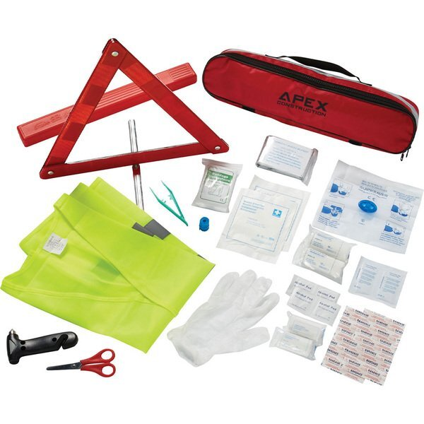 Auto Safety First Aid Kit, 34 pc.